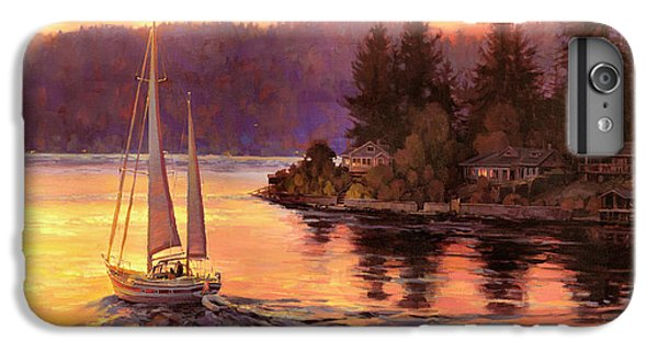 Seattle iPhone 7 Plus Case - Sailing On The Sound by Steve Henderson