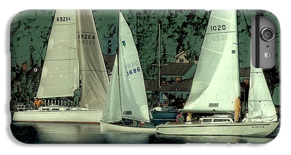 IPhone 7 Plus Case featuring the photograph Sailing Reflections by David Patterson