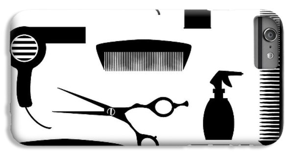 Aerosol iPhone 7 Plus Case - Salon Tools by Bigalbaloo Stock