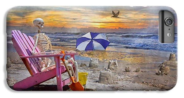 Sam's  Sandcastles IPhone 7 Plus Case by Betsy Knapp