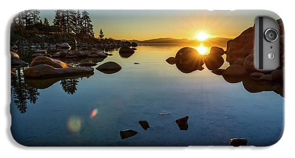 Lake iPhone 7 Plus Case - Sand Harbor Sunset by Jamie Pham