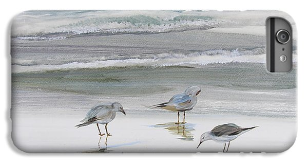 Sandpiper iPhone 7 Plus Case - Sandpipers by Julianne Felton