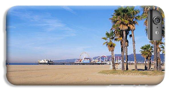 Santa Monica Beach Ca IPhone 7 Plus Case by Panoramic Images