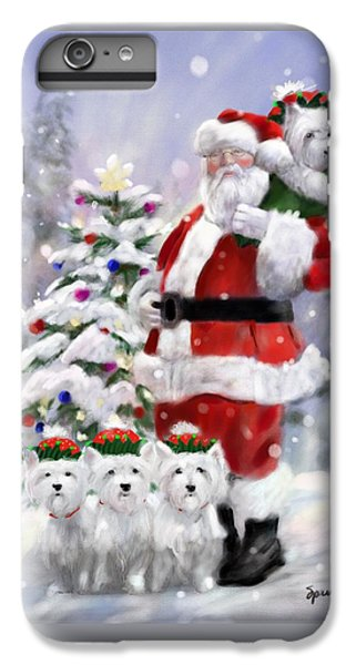 Elf iPhone 7 Plus Case - Santa's Helpers by Mary Sparrow
