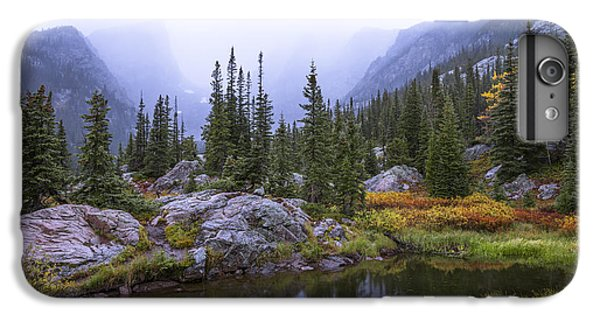 Lake iPhone 7 Plus Case - Saturated Forest by Chad Dutson