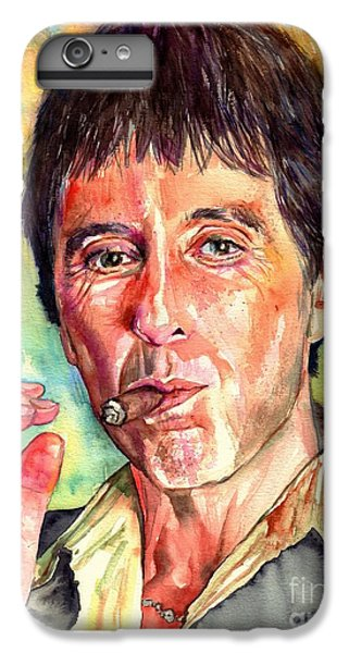 Harlem iPhone 7 Plus Case - Scarface by Suzann's Art