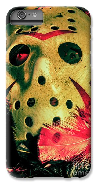 Hockey iPhone 7 Plus Case - Scene From A Fright Night Slasher Flick by Jorgo Photography - Wall Art Gallery