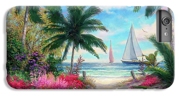 Boats iPhone 7 Plus Case - Sea Breeze Trail by Chuck Pinson