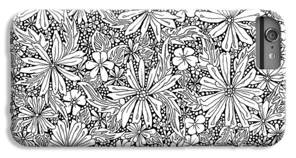 Sea Of Flowers And Seeds At Night Horizontal IPhone 7 Plus Case by Tamara Kulish