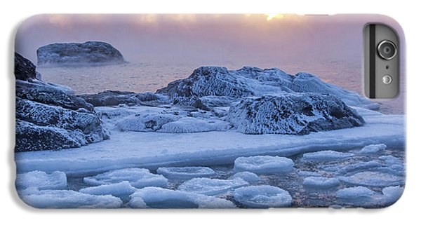 Lake Superior iPhone 7 Plus Case - Sea Of Geometry by Mary Amerman
