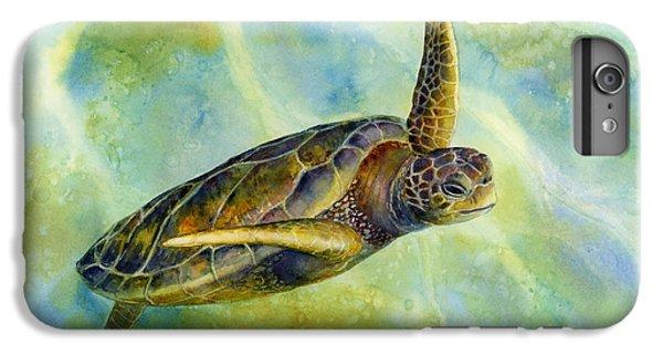 Turtle iPhone 7 Plus Case - Sea Turtle 2 by Hailey E Herrera