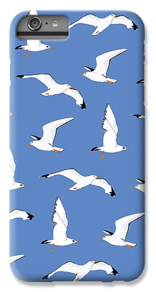 Seagulls Gathering At The Cricket IPhone 7 Plus Case by Elizabeth Tuck