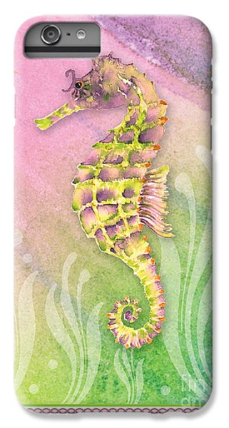 Seahorse Violet IPhone 7 Plus Case by Amy Kirkpatrick