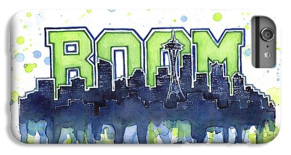 Seattle 12th Man Legion Of Boom Watercolor IPhone 7 Plus Case