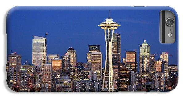 Seattle At Dusk IPhone 7 Plus Case by Adam Romanowicz
