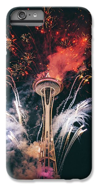 Seattle IPhone 7 Plus Case by Happy Home Artistry