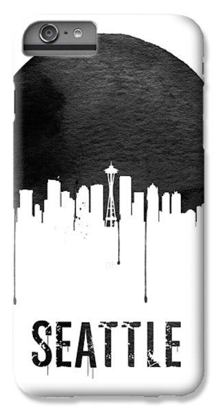Seattle Skyline White IPhone 7 Plus Case