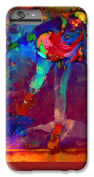 Serena Williams Return Explosion IPhone 7 Plus Case by Brian Reaves