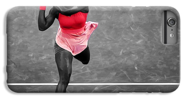 Serena Williams Strong Return IPhone 7 Plus Case by Brian Reaves