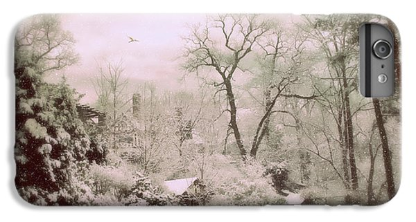 IPhone 7 Plus Case featuring the photograph Serene In Snow by Jessica Jenney