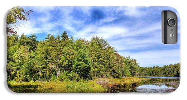 IPhone 7 Plus Case featuring the photograph Serenity On Bald Mountain Pond by David Patterson