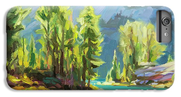 Lake iPhone 7 Plus Case - Shades Of Turquoise by Steve Henderson