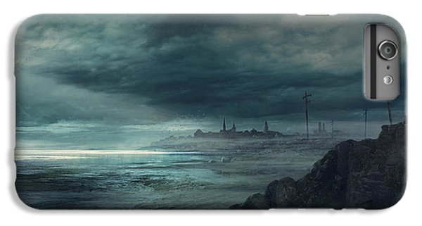 Boston iPhone 7 Plus Case - Shadow Over Innsmouth by Guillem H Pongiluppi