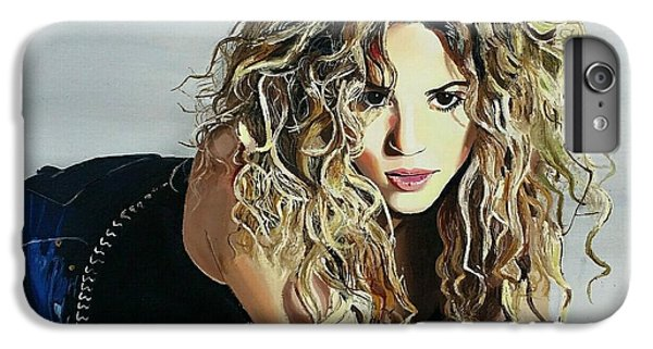 Shakira  IPhone 7 Plus Case by Gitanjali  Sood