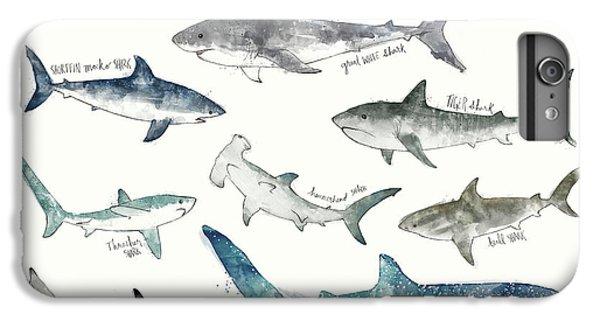 Sharks - Landscape Format IPhone 7 Plus Case