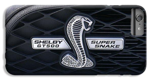 Garden Snake iPhone 7 Plus Case - Shelby Gt 500 Super Snake by Mike McGlothlen