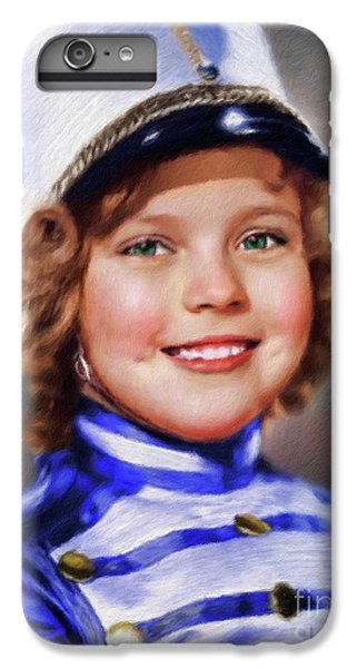 Shirley Temple, Vintage Actress IPhone 7 Plus Case