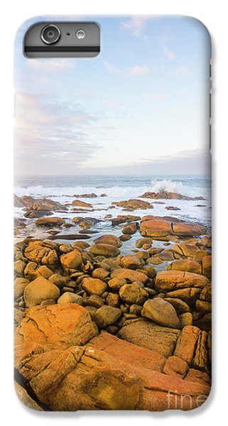 IPhone 7 Plus Case featuring the photograph Shore Calm Morning by Jorgo Photography - Wall Art Gallery