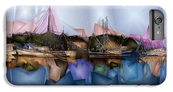 Shrimp Boats iPhone 7 Plus Case - Shremp Creek Fishing by Jon Glaser