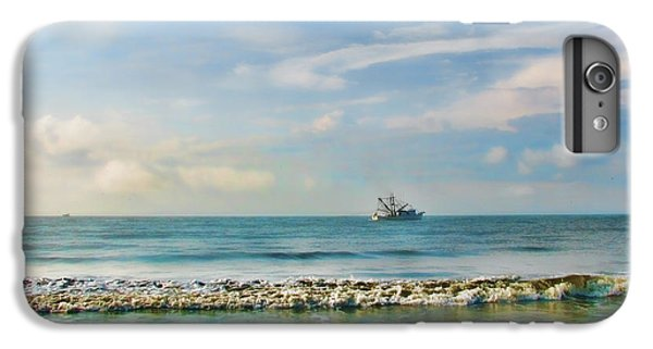 Shrimp Boats iPhone 7 Plus Case - Shrimp Boat Off Kiawah by Amy Tyler
