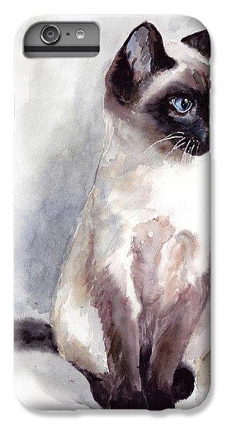 Fairy iPhone 7 Plus Case - Siamese Kitten Portrait by Suzann's Art