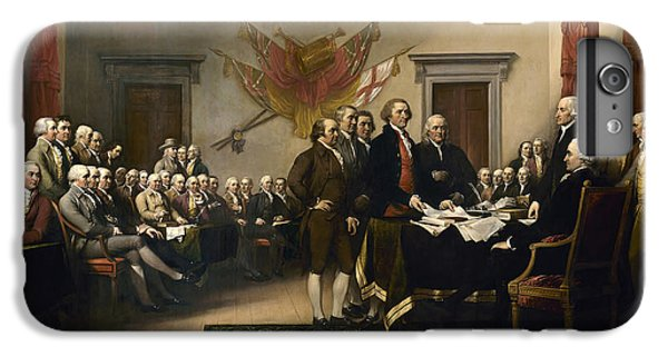 Signing The Declaration Of Independence IPhone 7 Plus Case by War Is Hell Store