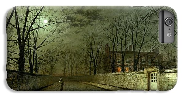 Silver Moonlight IPhone 7 Plus Case by John Atkinson Grimshaw
