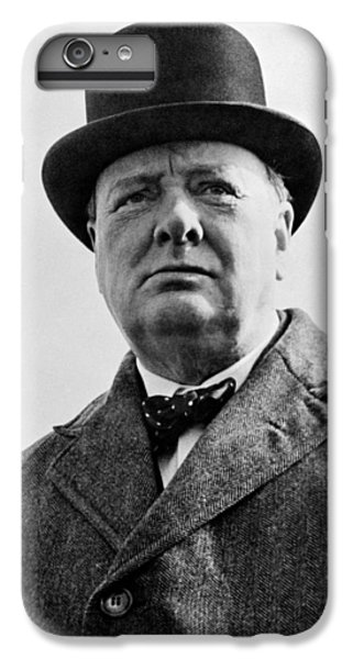 England iPhone 7 Plus Case - Sir Winston Churchill by War Is Hell Store