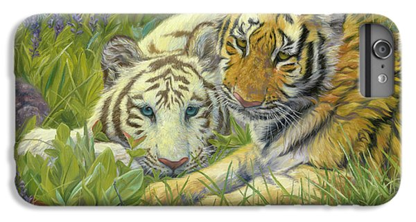 Tiger iPhone 7 Plus Case - Sisters by Lucie Bilodeau