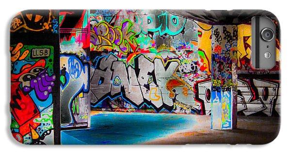 Aerosol iPhone 7 Plus Case - Skatepark Graffiti Southbank 3 by Mo Barton