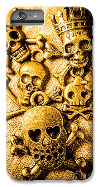 IPhone 7 Plus Case featuring the photograph Skulls And Crossbones by Jorgo Photography - Wall Art Gallery