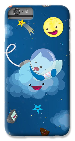 Sleepy In Space IPhone 7 Plus Case by Seedys