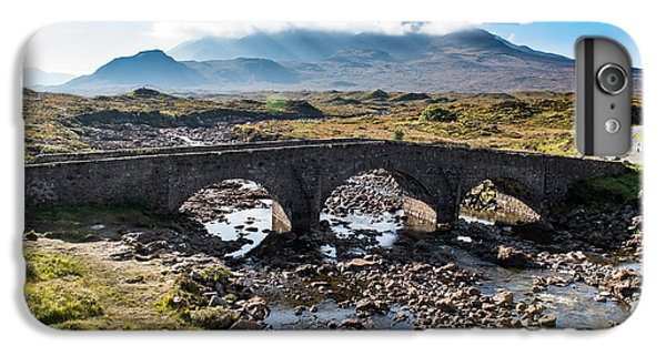 IPhone 7 Plus Case featuring the photograph Skye Cuillin From Sligachan by Gary Eason