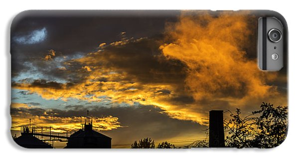 IPhone 7 Plus Case featuring the photograph Smoky Sunset by Jeremy Lavender Photography