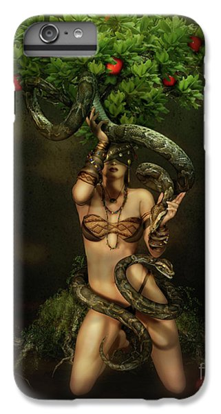 Python iPhone 7 Plus Case - Snake Charmer by Shanina Conway