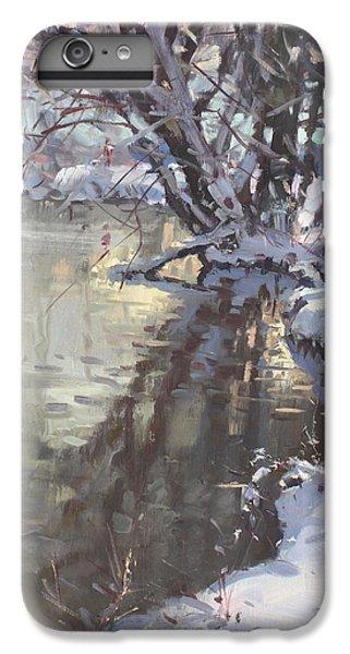 Hyde Park iPhone 7 Plus Case - Snowy Hyde Park by Ylli Haruni