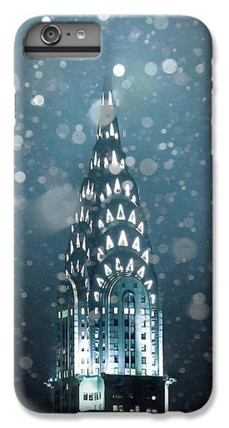 Chrysler Building iPhone 7 Plus Case - Snowy Spires by Az Jackson