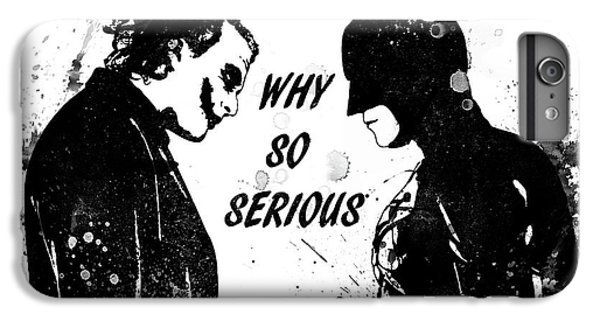 Heath Ledger iPhone 7 Plus Case - So Serious by Dan Sproul