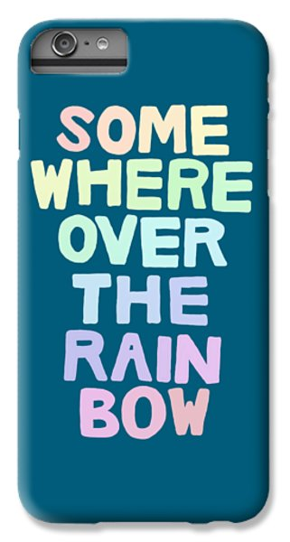 Somewhere Over The Rainbow IPhone 7 Plus Case by Priscilla Wolfe