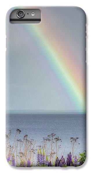 Lake Superior iPhone 7 Plus Case - Somewhere Under The Rainbow by Mary Amerman